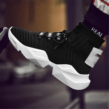 Load image into Gallery viewer, Men's casual high-top sneakers