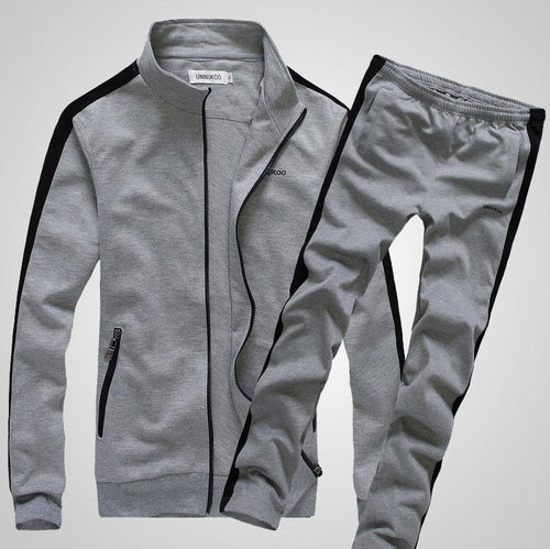 Autumn And Winter New Solid Color Casual Men's Suit