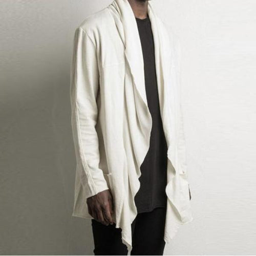 New Men's Irregular Cardigan