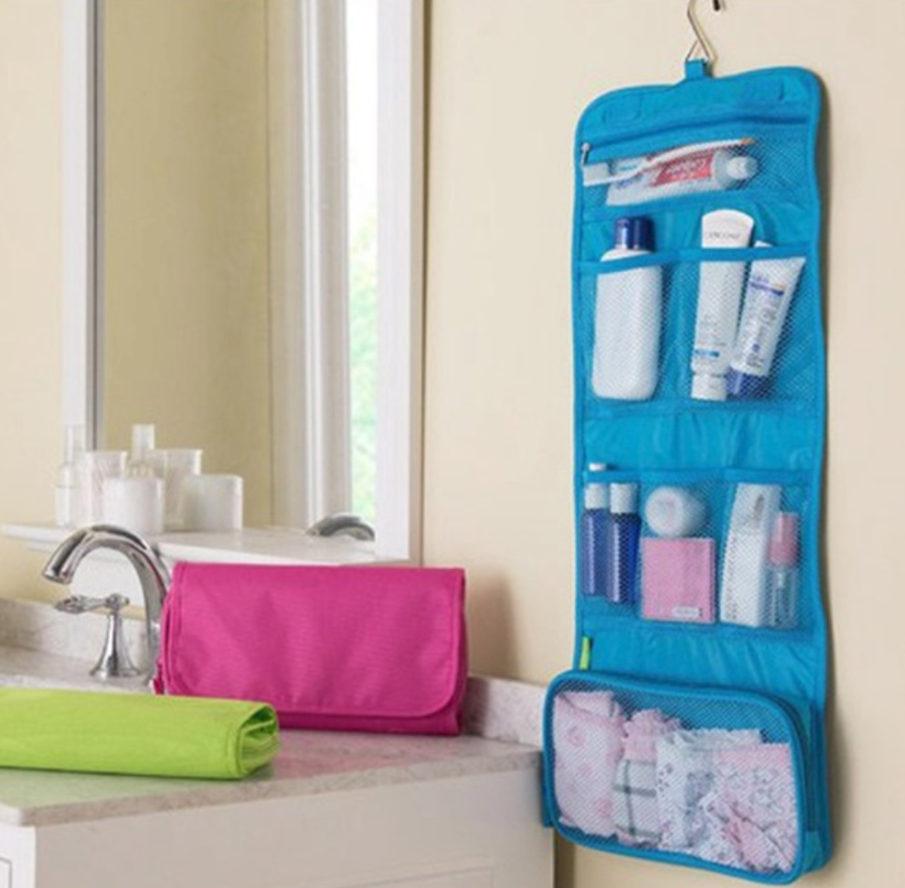 Foldable Toiletries Travel Bag