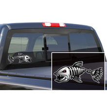 Load image into Gallery viewer, Fish Skeleton Decals - 3 Pack