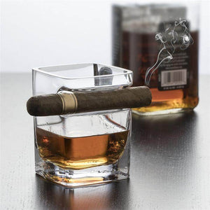 Cigar Holding Glass