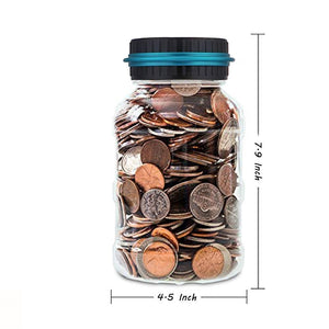 Digital Coin Counting Jar