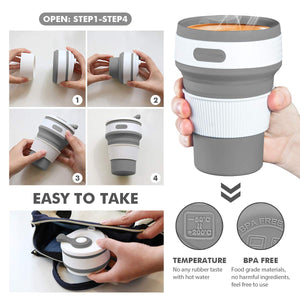 Collapsible Silicone Cup