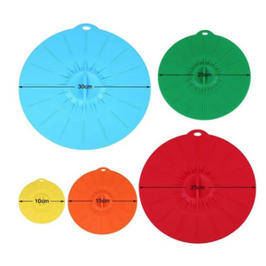 Silicone Suction Lids (Set of 5)