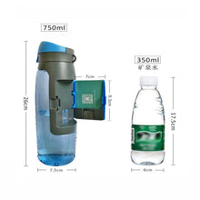 Load image into Gallery viewer, Water Bottle with Storage Compartment