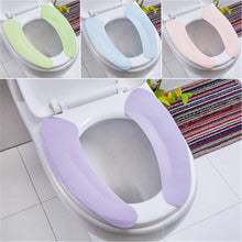 Load image into Gallery viewer, Washable Bathroom Toilet Seat Cover