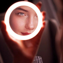 Load image into Gallery viewer, Wireless Charging LED Makeup Mirror
