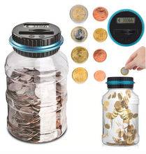 Load image into Gallery viewer, Digital Coin Counting Jar
