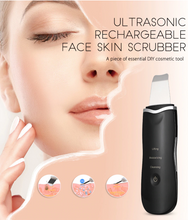 Load image into Gallery viewer, Ultrasonic Face Skin Scrubber & Cleaner
