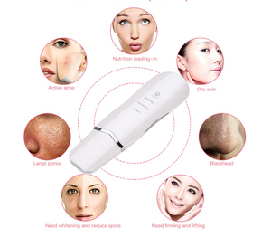Ultrasonic Face Skin Scrubber & Cleaner
