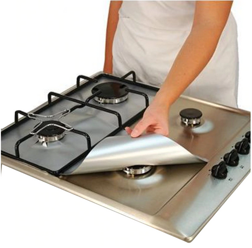 Reusable Gas Stove Protectors (Set of 4)
