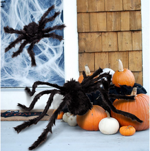 Load image into Gallery viewer, Large Halloween Spider Decoration