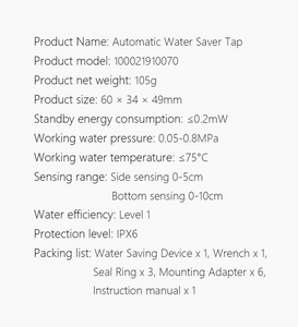 Induction Water Saver