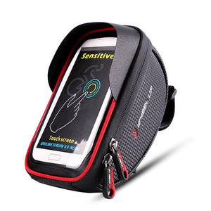 Waterproof Bike Handlebar Phone Pouch