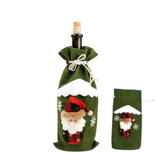Load image into Gallery viewer, Wine Bottle Christmas Stocking