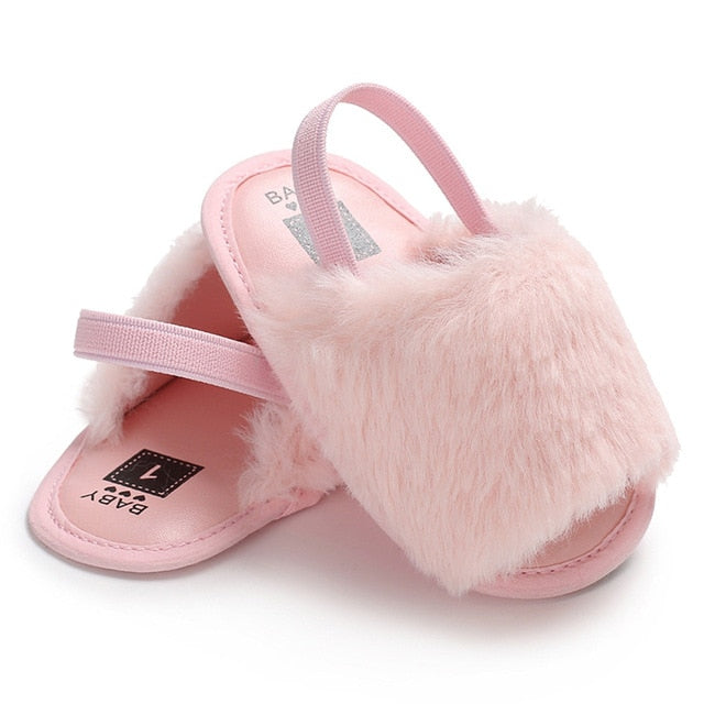 Baby Girl Soft Sole Sandals - Baby needs & Co.
