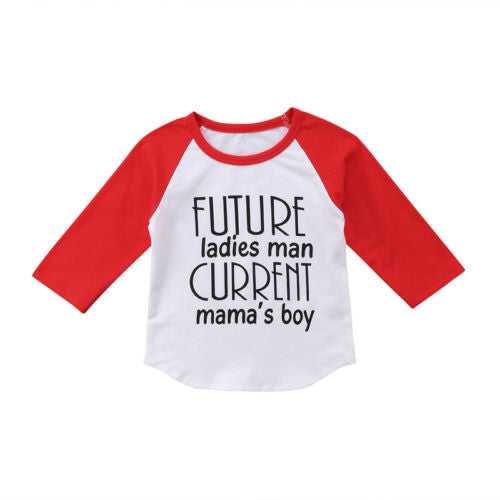 Future Ladies Man Current Mama's Boy - Baby needs & Co.
