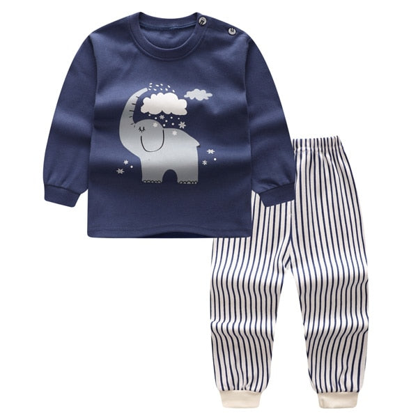 Long-sleeved  Cartoon Clothes For Baby Boy & Baby Girl - Baby needs & Co.
