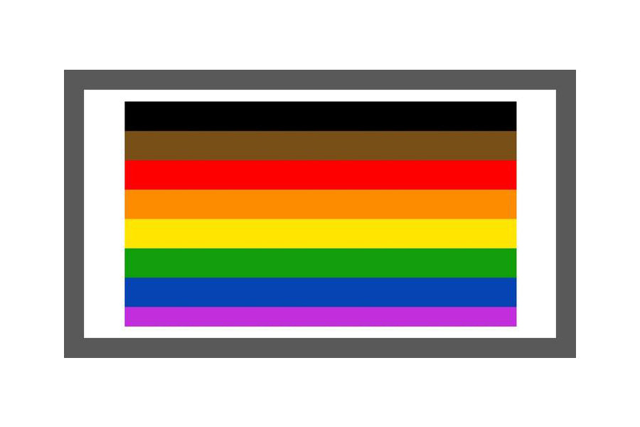 REDESIGNED PRIDE FLAG – RECOGNIZING PEOPLE OF COLOR