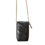 Wooster Crossbody Bag in Black Leather