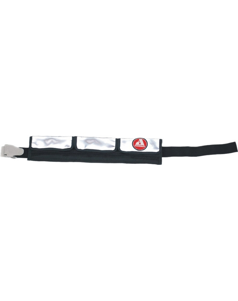 Pocket weight belt with stainless steel buckle ( 3 pockets )