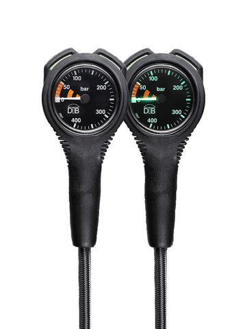 PRESSURE GAUGE NIGHT VISION WITH MIFLEX HOSE