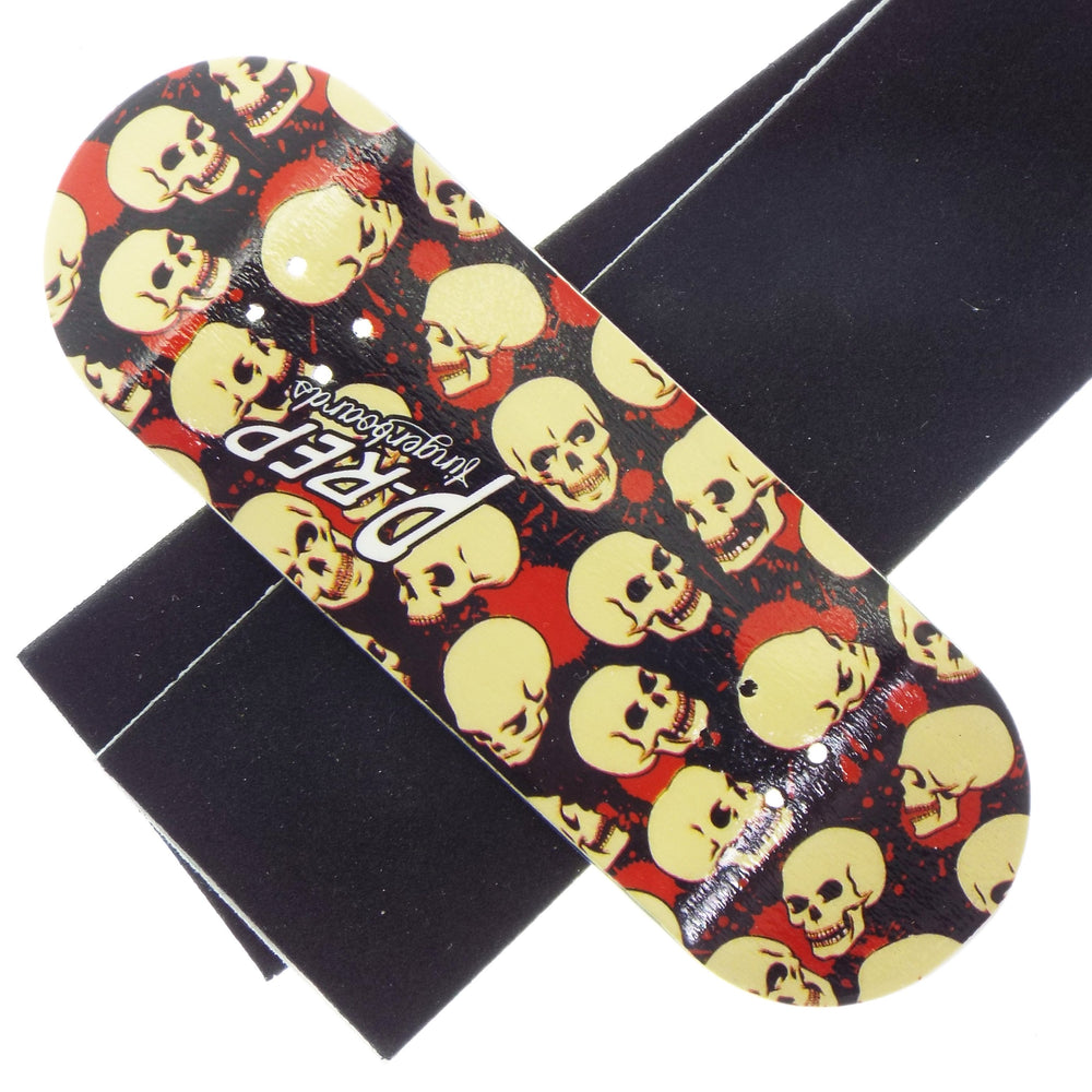 P-REP  34mm x 100mm Graphic Deck - Skull