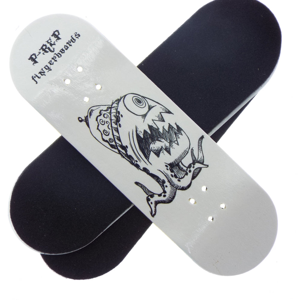P-REP  30mm x 100mm Graphic Deck - Alien brain