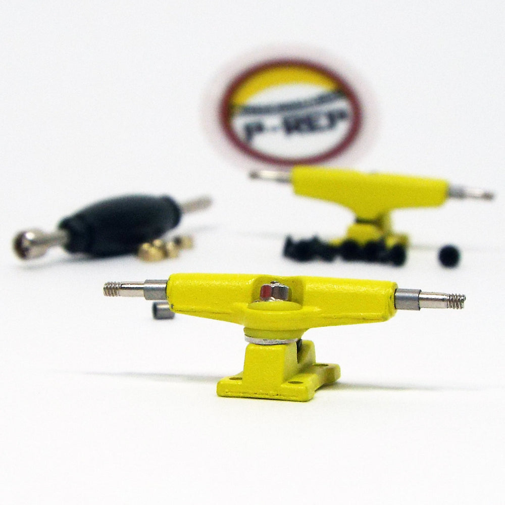 P-REP  32mm Spaced Trucks - Yellow