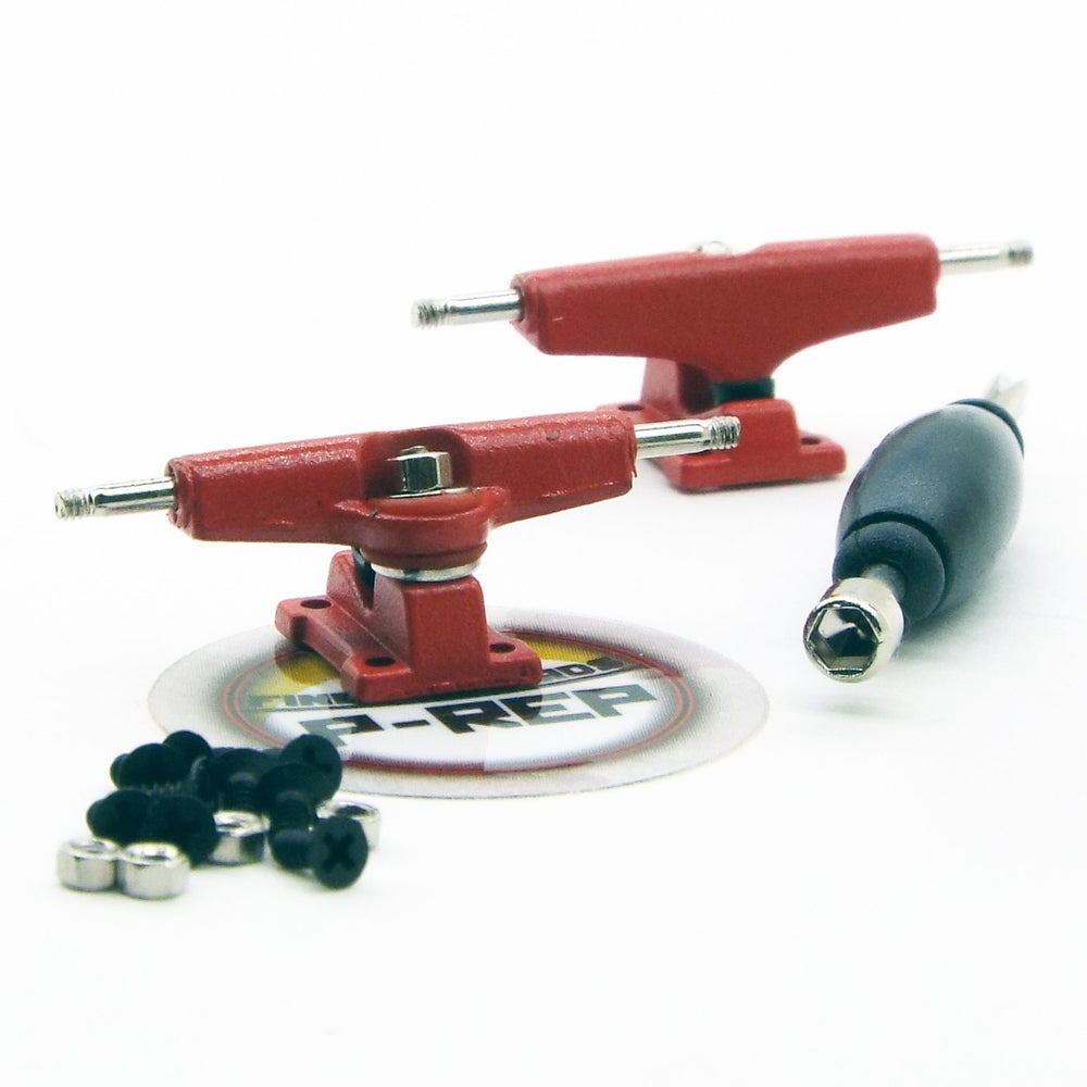 P-REP  29mm Tuned Trucks - Red