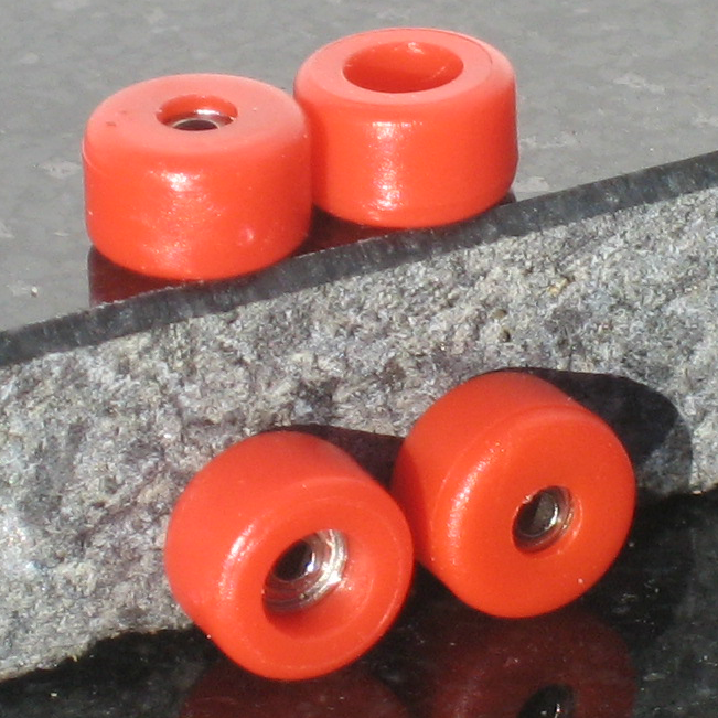 P-REP  Bearing Wheels - Red