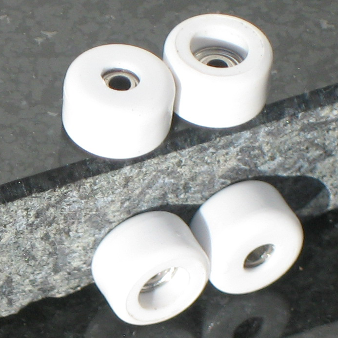 P-REP  Bearing Wheels - White