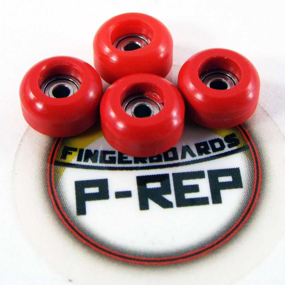 P-REP  CNC Wheels - Red