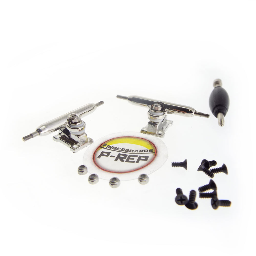 P-REP  32mm Solid Trucks - Chrome