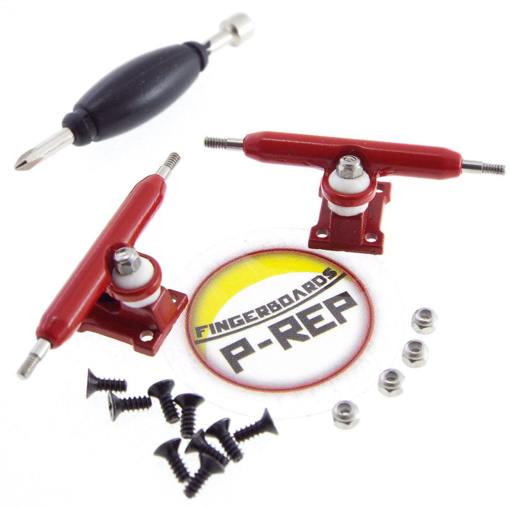 P-REP  32mm Solid Trucks - Red