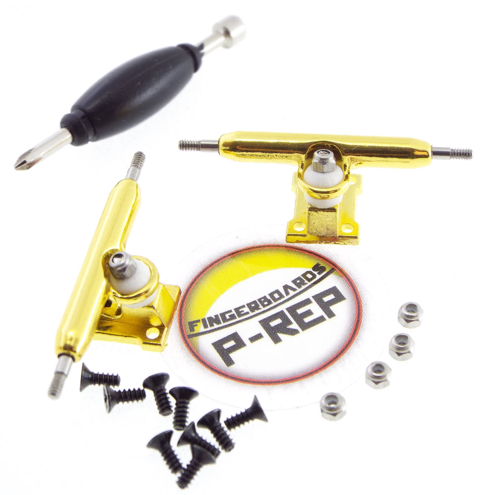 P-REP  32mm Solid Trucks - Gold