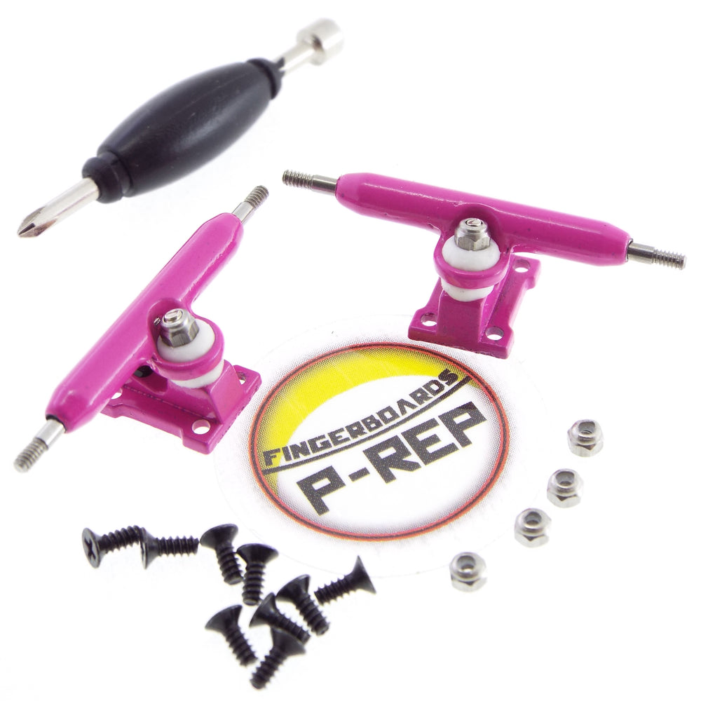 P-REP  32mm Solid Trucks - Pink