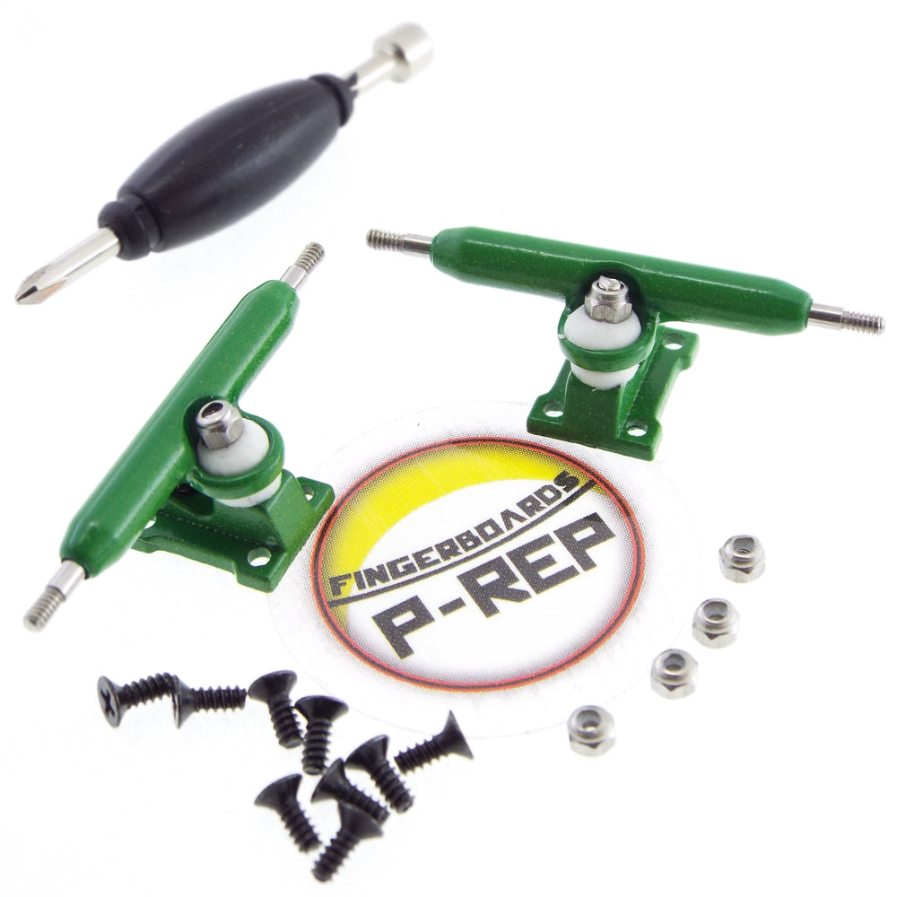 P-REP  32mm Solid Trucks - Green