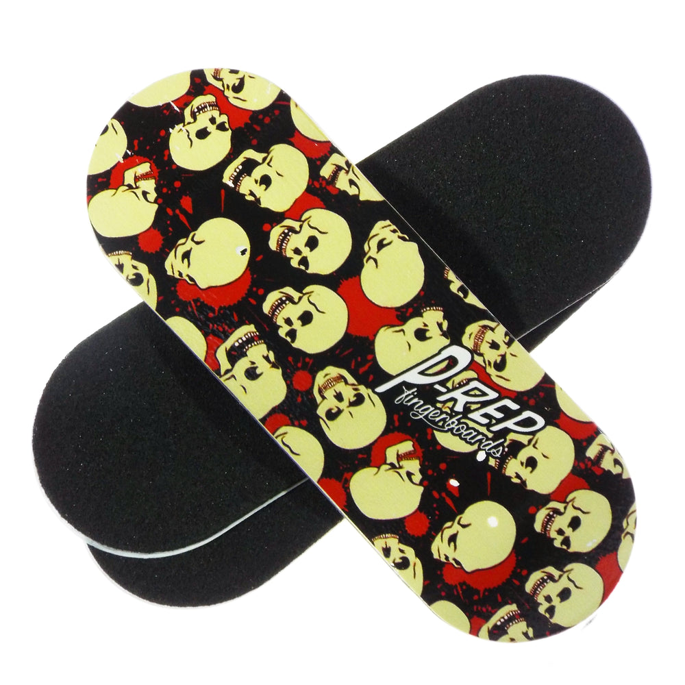 P-REP  34mm x 97mm Graphic Deck - Skull