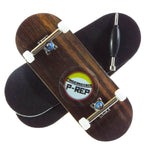 P-REP  34mm x 97mm Natural Custom Complete - Ebony