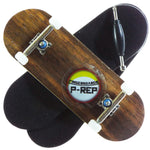 P-REP  32mm x 97mm Natural Custom Complete - Ebony