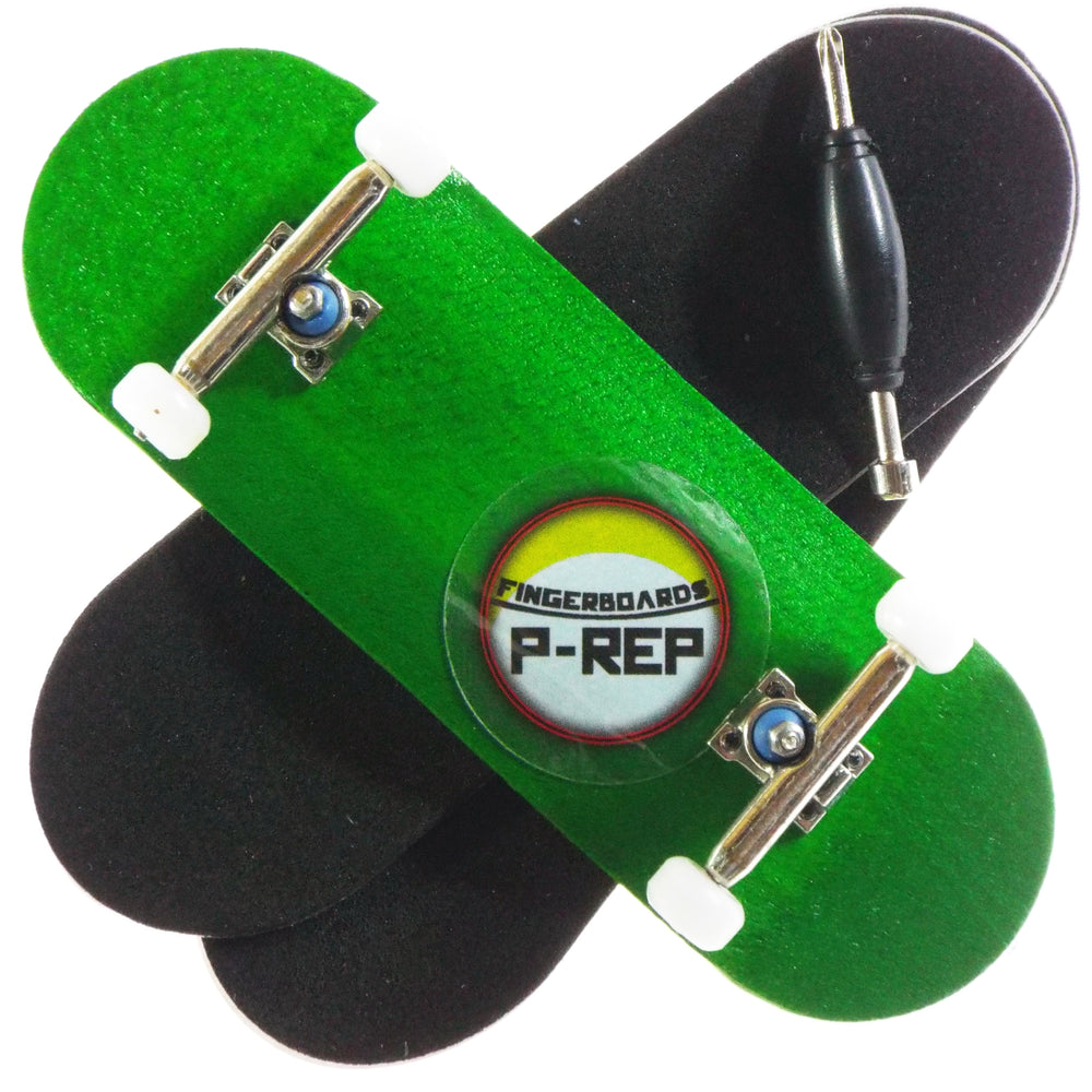 P-REP  32mm x 97mm Natural Custom Complete - Green