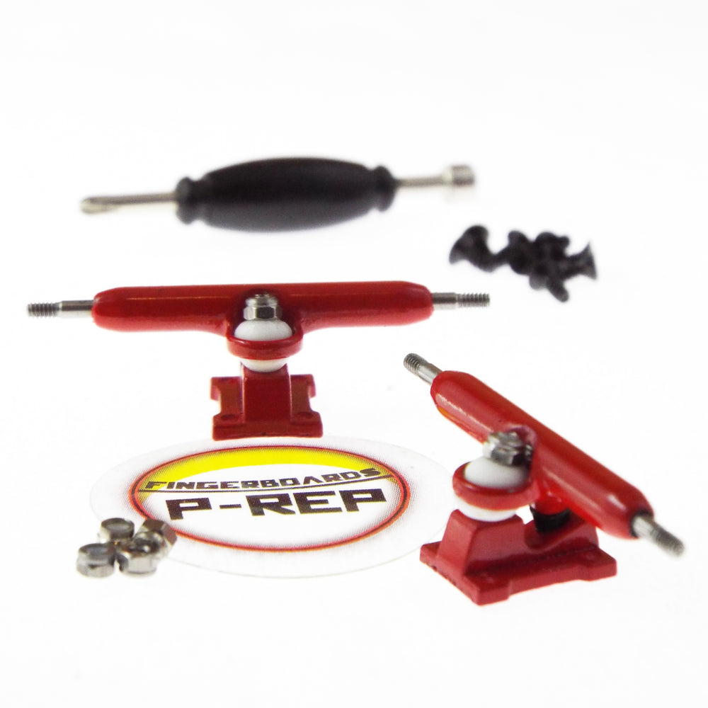 P-REP  34mm Solid Trucks - Red