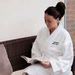 Luxury Personalised Cotton Bath Robe (Adult)