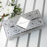 Personalised Silver Trinket Jewellery Box