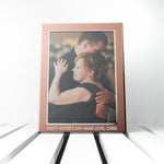 Personalised Medium Rose Gold Metal Photo Frame