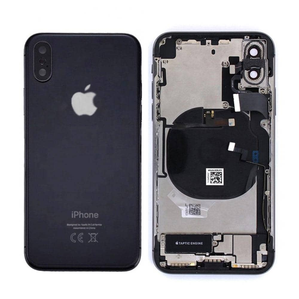 Chassis Complet iPhone X Noir