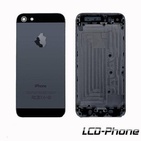 Coque Arriere iphone 5 Noir