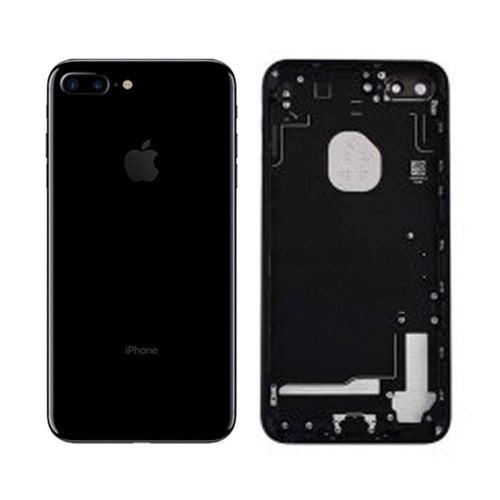 Coque Arriere iPhone 7 Plus Noir brillant